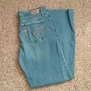 Levis 515 bootcut jeans size 6s